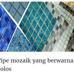Harga Keramik Kolam Renang