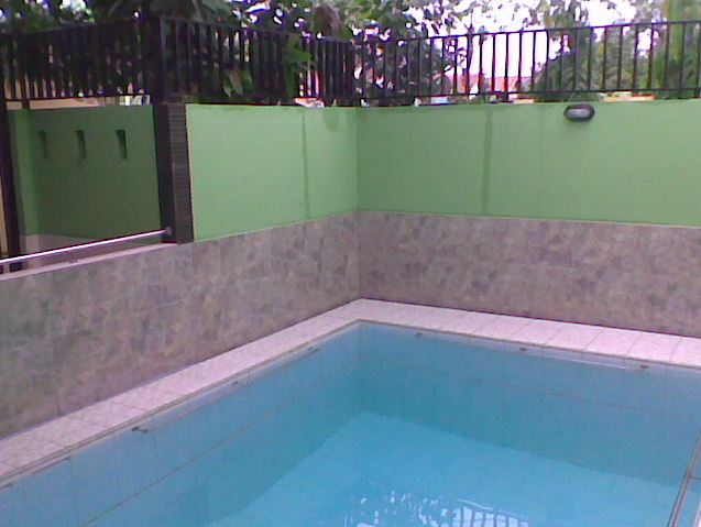 cara membuat kolam renang murah